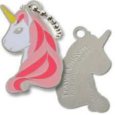 Unicorn Micro Travel Tag For Geocaching (Travel Bug Geocoin)