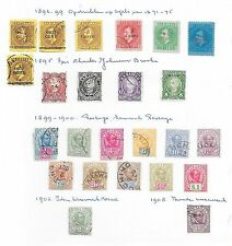Sarawak stamps 1892 Collection of 26 CLASSIC stamps   CAT VALUE $400