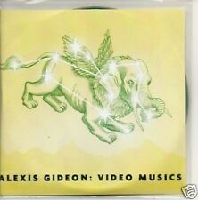 (826T) Alexis Gideon, Video Musics - DJ CD + DVD