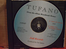 Tufano - You're All I Breathe / Chapter Two CD Single VG Condition INDIE ROCK