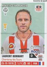 N°003 LAURENT BONNART # AC.AJACCIO STICKER FOOT 2014 PANINI