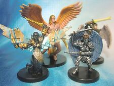Dungeons & Dragons Miniatures Lot  Angel of Valor Justice Archon !!  s101