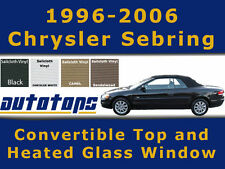 New Sebring Convertible Top and Defroster Glass Window  - Install Video