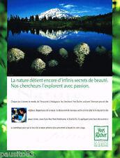 PUBLICITE ADVERTISING 085  1996  Les cosmétiques NATURE YVES ROCHER