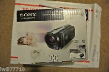 Sony HDR-CX130 Camcorder - Black
