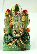 891 Ct Mesmerised Natural Gold Art Work Jade Ganesha Figurine-Religion EBAY