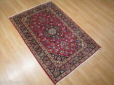 3x5 Fine SUPER Persian Museum Classic Kashan Handmade-knotted Wool Rug 583456