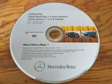 2011 MERCEDES NAVIGATION DVD FOR MERCEDES  CL AND S CLASS MODELS 2007 2008 2009
