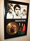MUSE SIGNED FRAMED GOLD DISC DISPLAY 65