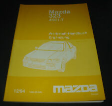 Werkstatthandbuch Mazda 323 4EE1-T Typ BA Motor Kupplung Getriebe Elektrik 1994