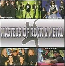 Masters of Rock & Metal u.a Motörhead, U.D.O, Casanovas, Greg Billings Band CD