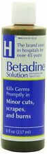 Betadine Solution 8oz Each
