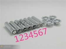 4pcs Solid Chrome Door Lock Pins For Mercedes Benz  W218 W207 but not for W212