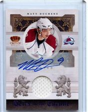 2010/11 PANINI CROWN ROYALE MATT DUCHENE AUTO 39/50