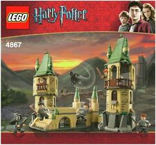LEGO HARRY POTTER HOGWARTS CASTLE ALL 7 MINIFIGURES 4867 100% COMPLETE GUARANTEE