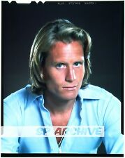 1980s Vintage 4x5 Transparency Singer Actor RICK MOSES 02