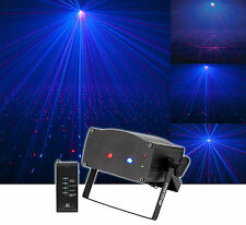 American DJ Micro Royal Galaxian Royal Blue Mini-Laser Light Effect + Remote