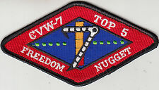CVW-7 TOP 5 NUGGET SHOULDER PATCH