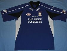 HULL FC / 2005 Away - EXITO - vintage MENS RUGBY Shirt / Jersey. Size: XL?