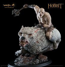 Weta Collectibles The Hobbit Azog The Defiler on Warg Statue Brand New