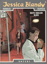 BD  Jessica Blandy - N°4 - nuits couleur blues - E.O.1988 - BE - Renaud