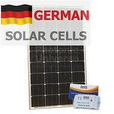 120W solar panel charging kit for motorhome caravan boat 10A controller 120 watt
