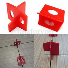 50X 2mm Tile Leveling System 3 Side Tile Spacer - Cross And T Floor Wall Tool