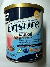 Ensure complete nutrition powder & omega, inulin 400g Strawberry special formula