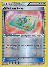 Weakness Policy 142/160 XY Primal Clash REVERSE HOLO MINT! Pokemon