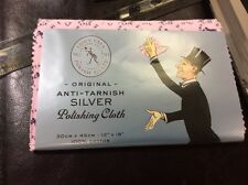 "ORIGINIAL Anti-tarnish TOWN TALK Silver Polishing Cloth 12"" x 18"" or 30cm x 45cm"