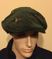Polo Ralph Lauren Corduroy  Duck  Embroidery Newsboy Driver  Hat SMALL / MEDIUM