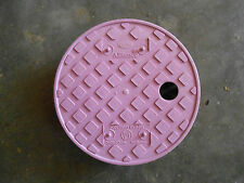 ADS 6 inch Round Valve Box Cover for Non-Potable Water (Qty-22) (OOO-1)