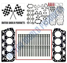 "Duramax 6.6 LB7  Head Gasket set,  MLS ""A"" head gaskets,  head bolts"