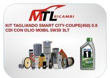 KIT TAGLIANDO SMART CITY-COUPE(450) 0.8 CDI CON OLIO MOBIL 5W30 3LT
