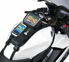Universal Motorcycle Trike GPS Mate SMART PHONE TANK POUCH Strap Mount NEW