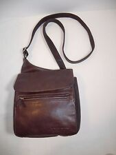Fossil Mens Brown  Messenger Crossbody Bag EUC