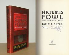 Eoin Colfer - Artemis Fowl: The Eternity Code - Signed - 1st/1st
