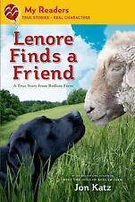 Lenore Finds a Friend: A True Story from Bedlam Farm (My Readers)-ExLibrary