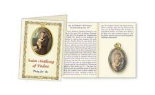 SAINT ANTHONY PICTURE MEDAL & PRAYER CARD STATUES CANDLES - PICTURES ALSO LISTED