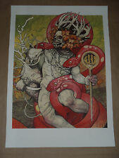 John Dyer Baizley Serpents Unleashed signed poster art print Baroness