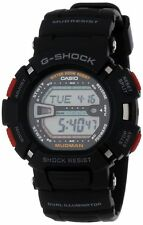 Casio G-Shock G9000-1 Black Sport Mudman Ditigal Watch Wristwatch - G-9000-1V