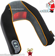 Electric Heated Neck & Shoulders Massage Massager, Infra-Red, Shiatsu, Xmas Gift