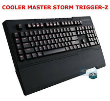 COOLER MASTER STORM TRIGGER-Z MECHANICAL GAMING BROWN KEYBOARD. GERMAN KEYBOARD