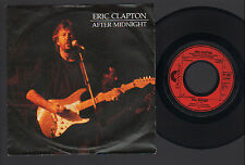 "7"" ERIC CLAPTON AFTER MIDNIGHT / I CAN'T STAND IT MADE IN GERMANY 1988 POLYDOR"