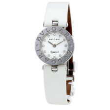 Bvlgari B. Zero1 White Dial Ladies Diamond Watch 100986