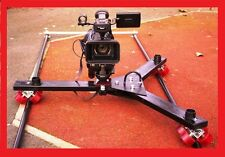 CAMERA TRACK DOLLY for CANON 1D 5D 7D JVC SONY Z1 Z5 Z7 EX3 RED Arri 4K 8K etc