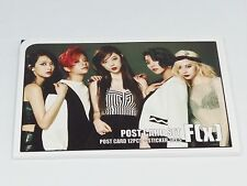 F(x) FX Krystal Sulli Luna Amber Victoria Postcard Set + Sticker KPOP Post Card