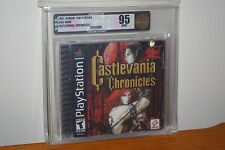 Castlevania Chronicles (Playstation) NEW SEALED GEM MINT GOLD VGA 95! RARE WOW!