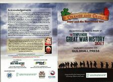1914-18 IRISH GREAT WAR DERRY LONDONDERRY ULSTER SOMME 1914-18 36th ULSTER 16th
