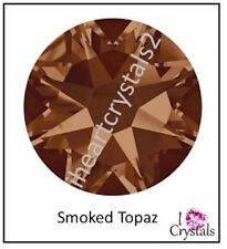 SMOKED TOPAZ Brown 144 pcs 12ss 3mm Swarovski Flatback Crystal Rhinestones 2088